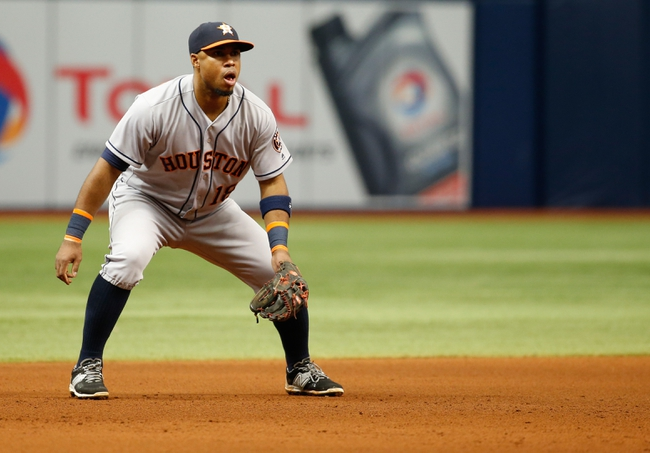 Houston Astros vs. Tampa Bay Rays - 8/27/16 MLB Pick, Odds, and Prediction