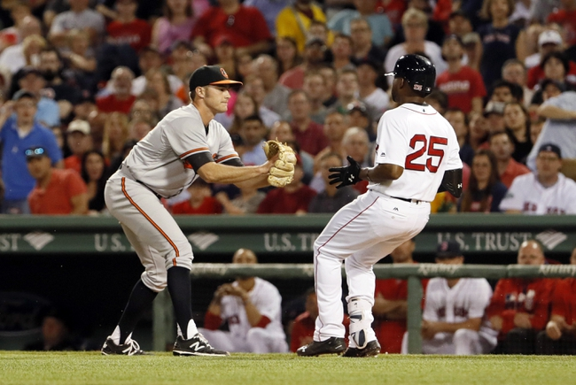 Baltimore Orioles vs. Boston Red Sox - 8/16/16 MLB Pick, Odds, and Prediction