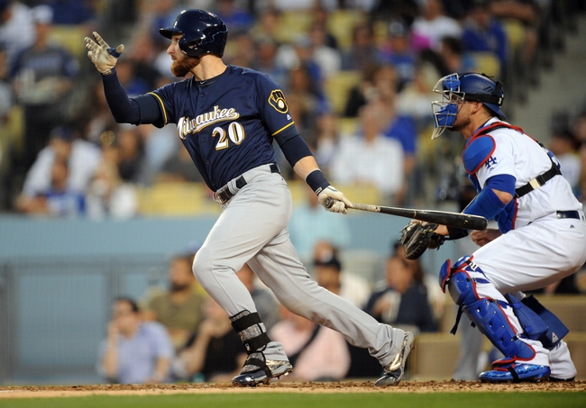 Dodgers vs. Brewers - 6/17/16 MLB Pick, Odds, and Prediction