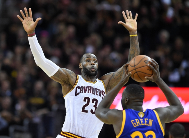 Golden State Warriors vs. Cleveland Cavaliers - 6/19/16 NBA Pick, Odds, and Prediction