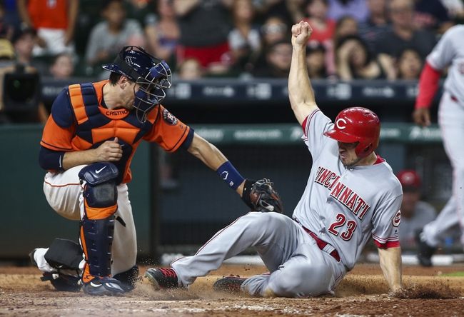Houston Astros vs. Cincinnati Reds - 6/19/16 MLB Pick, Odds, and Prediction