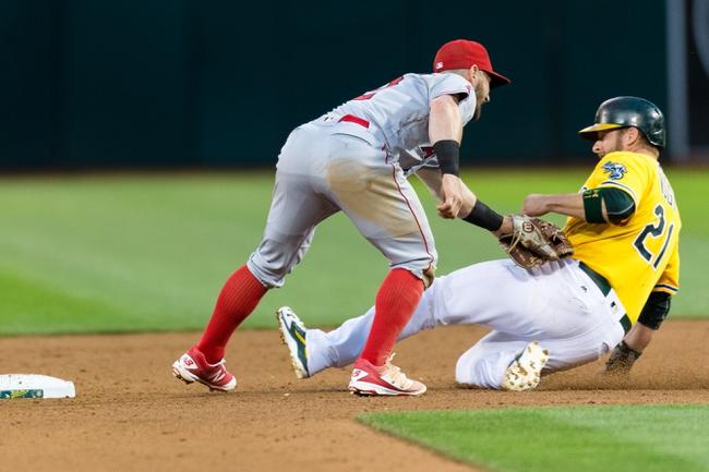 Athletics vs. Angels - 6/18/16 MLB Pick, Odds, and Prediction