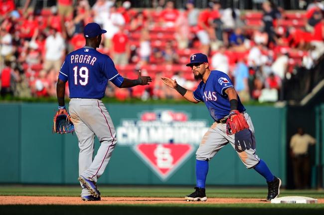 St. Louis Cardinals vs. Texas Rangers - 6/19/16 MLB Pick, Odds, and Prediction