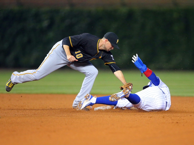 Pittsburgh Pirates vs. Chicago Cubs - 7/9/16 MLB Pick, Odds, and Prediction