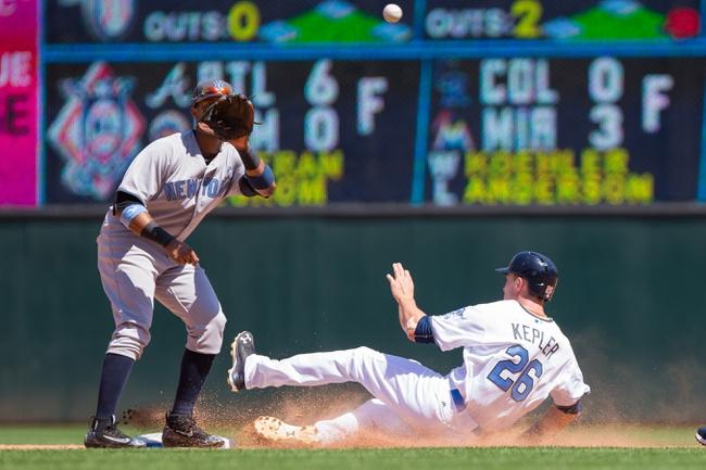Twins at Yankees - 6/24/16 MLB Pick, Odds, and Prediction