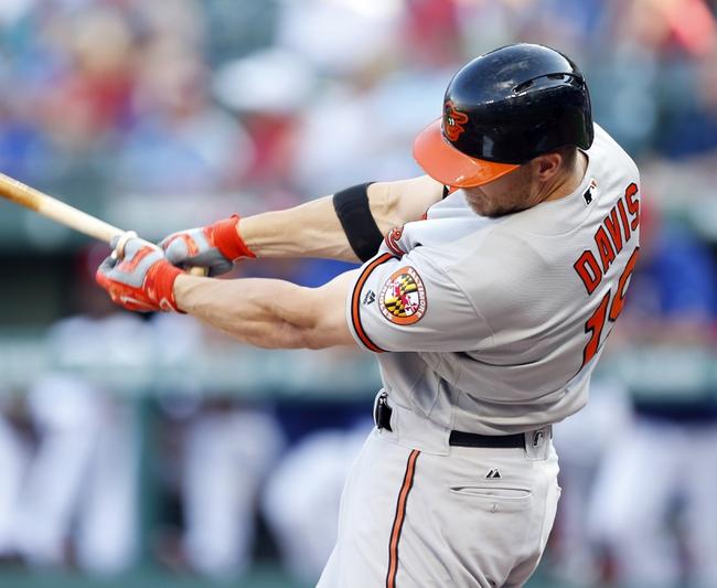 Baltimore Orioles vs. Texas Rangers - 8/2/16 MLB Pick, Odds, and Prediction