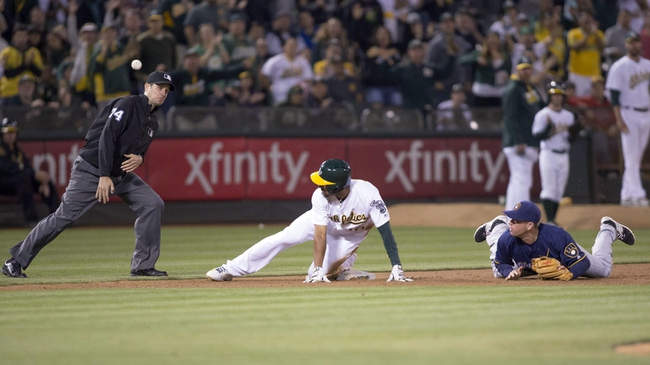 Athletics vs. Brewers - 6/22/16 MLB Pick, Odds, and Prediction