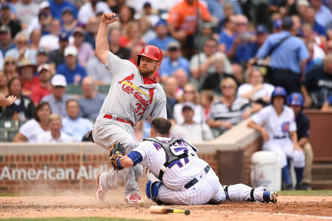 Chicago Cubs vs. St. Louis Cardinals - 8/11/16 MLB Pick, Odds, and Prediction