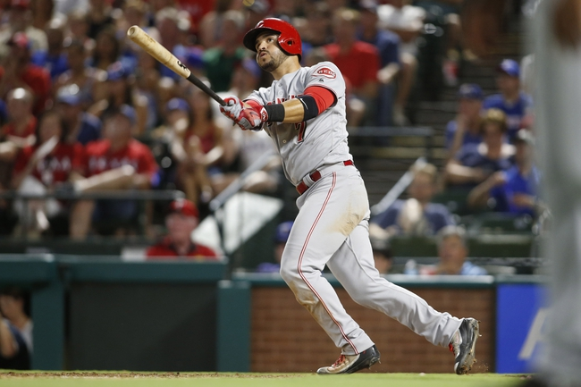 Cincinnati Reds vs. Texas Rangers - 8/23/16 MLB Pick, Odds, and Prediction