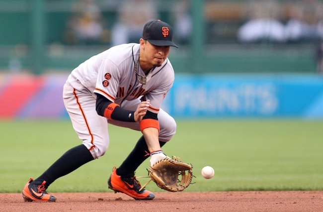 San Francisco Giants vs. Pittsburgh Pirates - 8/15/16 MLB Pick, Odds, and Prediction