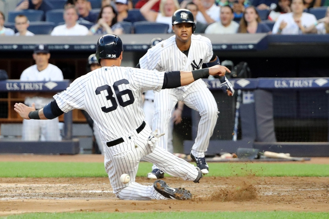 New York Yankees vs. Minnesota Twins - 6/25/16 MLB Pick, Odds, and Prediction
