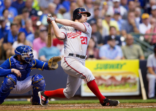 Milwaukee Brewers vs. Washington Nationals - 6/25/16 MLB Pick, Odds, and Prediction