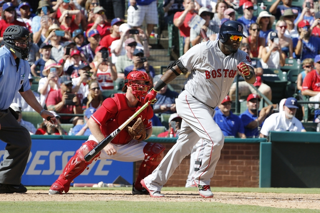 Boston Red Sox vs. Texas Rangers - 7/4/16 MLB Pick, Odds, and Prediction