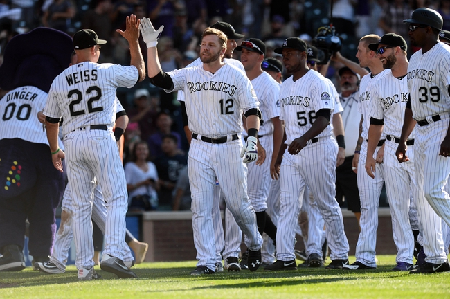 Rockies vs. Diamondbacks - 9/3/16 MLB Pick, Odds, and Prediction