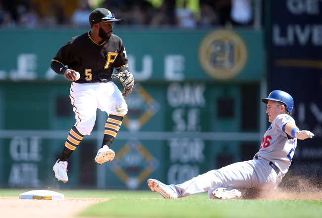 Los Angeles Dodgers vs. Pittsburgh Pirates - 8/12/16 MLB Pick, Odds, and Prediction