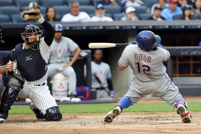 New York Yankees vs. Texas Rangers - 6/29/16 MLB Pick, Odds, and Prediction