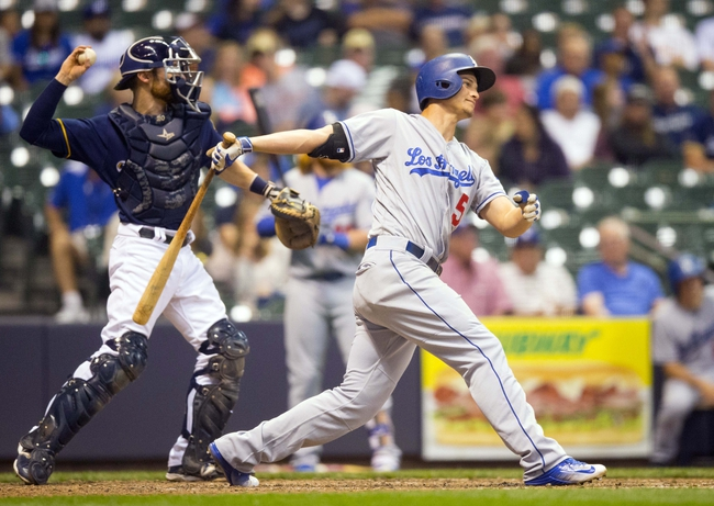Milwaukee Brewers vs. Los Angeles Dodgers - 6/30/16 MLB Pick, Odds, and Prediction