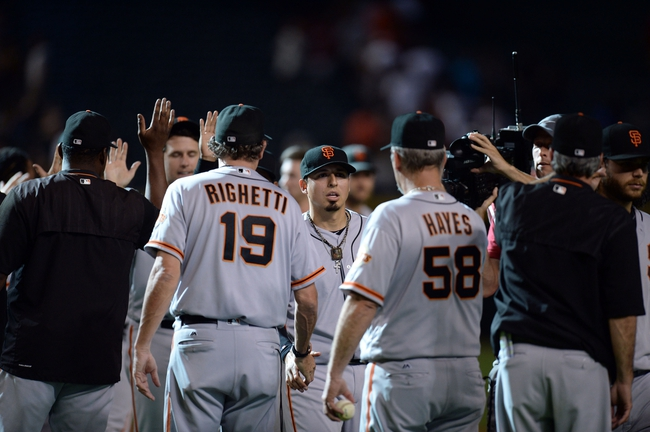 Giants vs. Diamondbacks - 7/9/16 MLB Pick, Odds, and Prediction