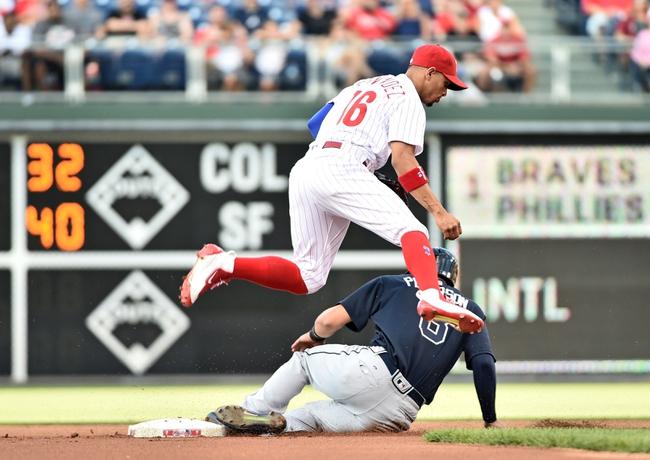 Philadelphia Phillies vs. Atlanta Braves - 7/6/16 MLB Pick, Odds, and Prediction