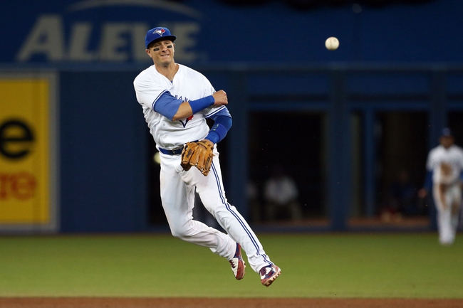 Toronto Blue Jays vs. Detroit Tigers - 7/8/16 MLB Pick, Odds, and Prediction