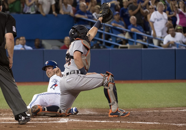 Toronto Blue Jays vs. Detroit Tigers - 7/9/16 MLB Pick, Odds, and Prediction