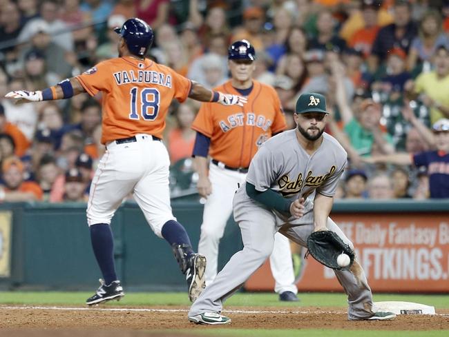 Houston Astros vs. Oakland Athletics - 7/10/16 MLB Pick, Odds, and Prediction
