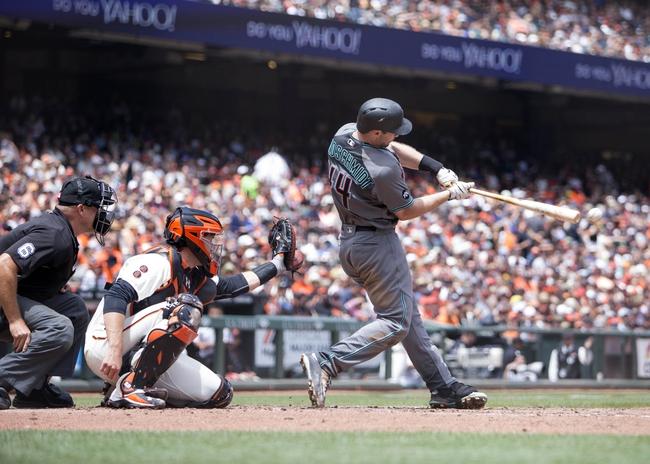 Diamondbacks at Giants - 7/10/16 MLB Pick, Odds, and Prediction