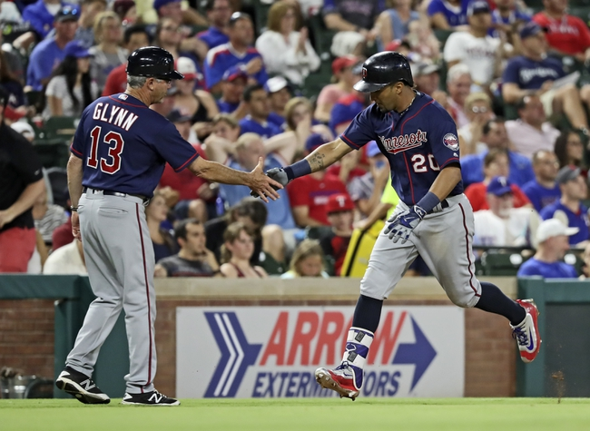 Rangers vs. Twins - 7/10/16 MLB Pick, Odds, and Prediction