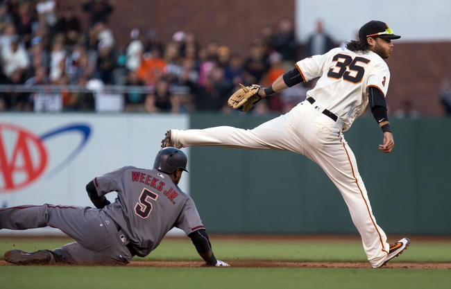 San Francisco Giants vs. Arizona Diamondbacks - 8/30/16 MLB Pick, Odds, and Prediction