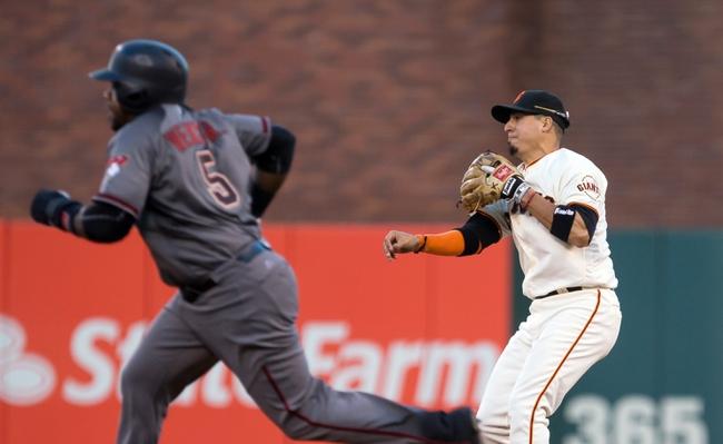 Giants vs. Diamondbacks - 8/31/16 MLB Pick, Odds, and Prediction