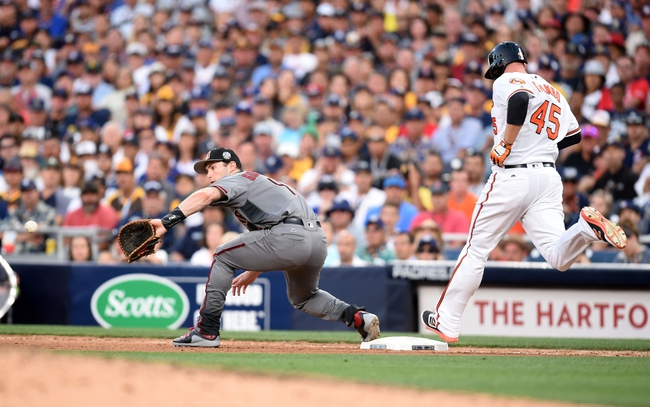 Baltimore Orioles vs. Arizona Diamondbacks - 9/23/16 MLB Pick, Odds, and Prediction