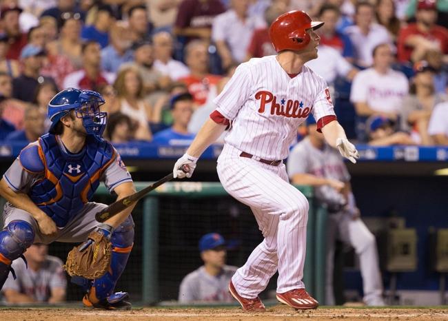Philadelphia Phillies vs. New York Mets - 7/16/16 MLB Pick, Odds, and Prediction