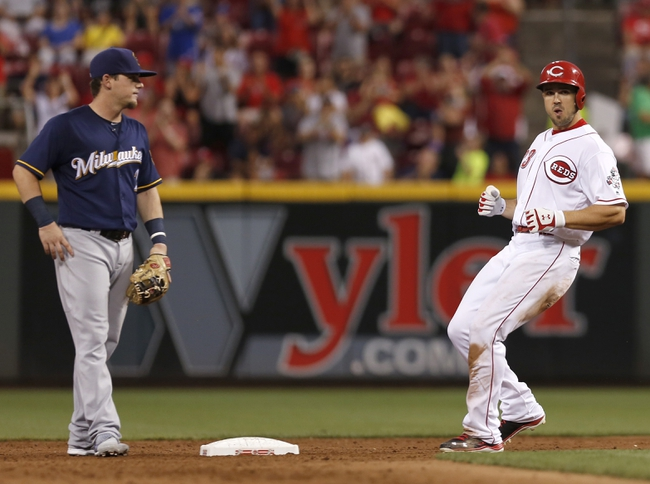 Cincinnati Reds vs. Milwaukee Brewers - 7/16/16 MLB Pick, Odds, and Prediction