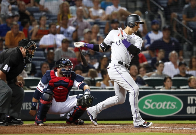 Atlanta Braves vs. Colorado Rockies - 7/16/16 MLB Pick, Odds, and Prediction