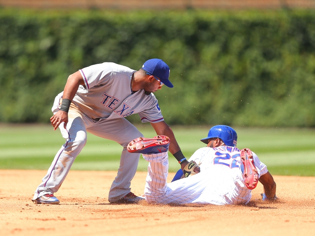 Rangers at Cubs - 7/17/16 MLB Pick, Odds, and Prediction