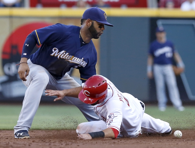 Cincinnati Reds vs. Milwaukee Brewers - 7/17/16 MLB Pick, Odds, and Prediction