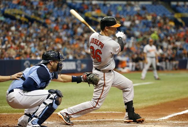 Tampa Bay Rays vs. Baltimore Orioles - 9/6/16 MLB Pick, Odds, and Prediction