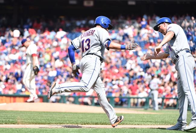 New York Mets vs. Philadelphia Phillies - 8/26/16 MLB Pick, Odds, and Prediction