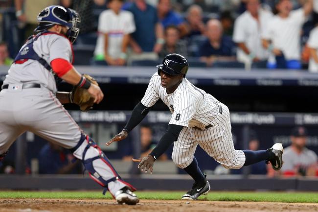 Yankees at Red Sox - 8/9/16 MLB Pick, Odds, and Prediction