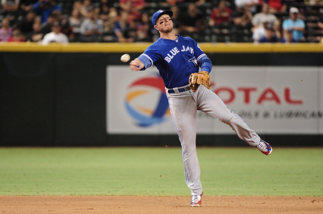 Diamondbacks vs. Blue Jays - 7/20/16 MLB Pick, Odds, and Prediction