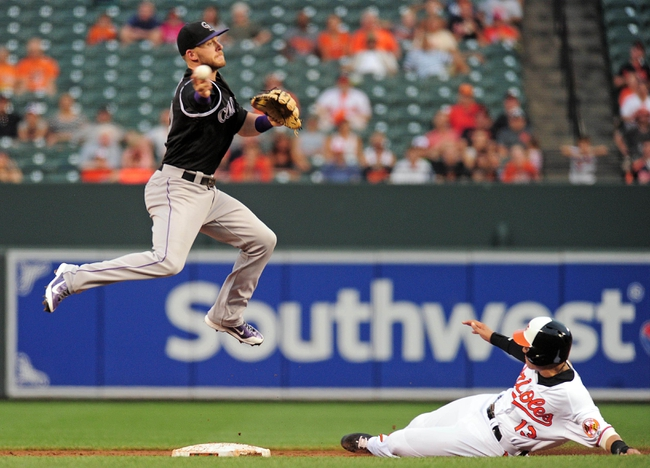 Baltimore Orioles vs. Colorado Rockies - 7/26/16 MLB Pick, Odds, and Prediction