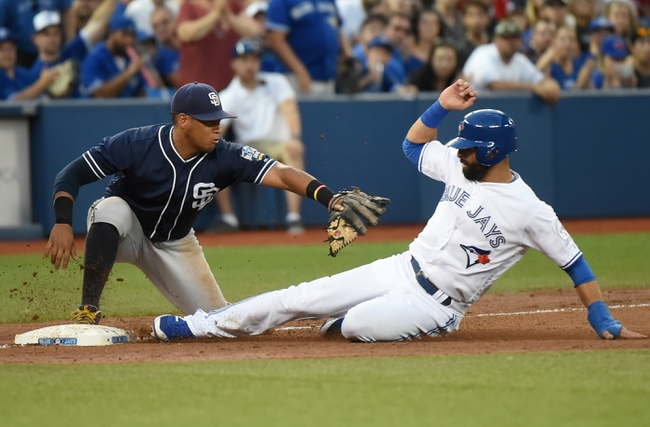 Toronto Blue Jays vs. San Diego Padres - 7/26/16 MLB Pick, Odds, and Prediction