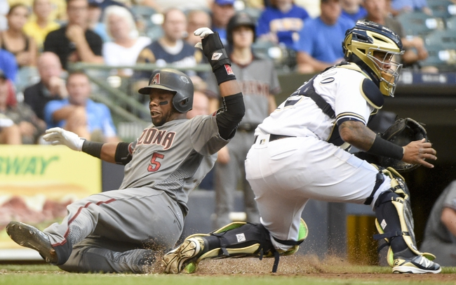 Arizona Diamondbacks vs. Milwaukee Brewers - 8/5/16 MLB Pick, Odds, and Prediction