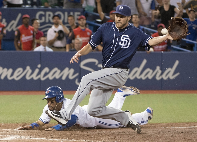 Toronto Blue Jays vs. San Diego Padres - 7/27/16 MLB Pick, Odds, and Prediction
