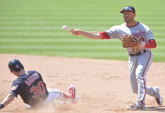 Washington Nationals vs. Cleveland Indians - 8/9/16 MLB Pick, Odds, and Prediction