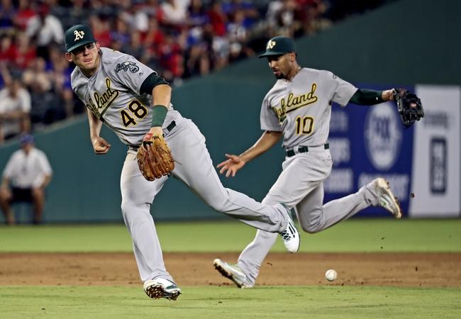 Texas Rangers vs. Oakland Athletics - 8/15/16 MLB Pick, Odds, and Prediction