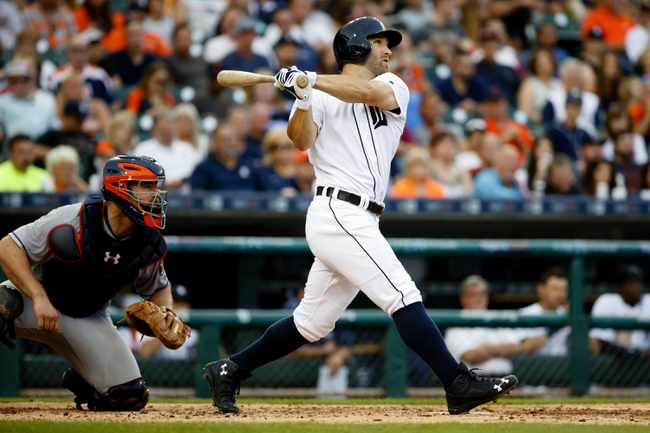 Detroit Tigers vs. Houston Astros - 7/31/16 MLB Pick, Odds, and Prediction