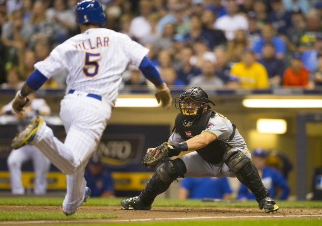 Milwaukee Brewers vs. Pittsburgh Pirates - 8/25/16 MLB Pick, Odds, and Prediction