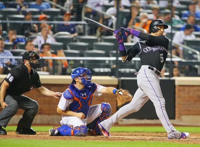 New York Mets vs. Colorado Rockies - 7/30/16 MLB Pick, Odds, and Prediction