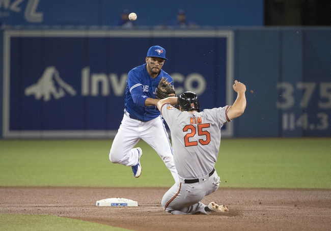 Baltimore Orioles vs. Toronto Blue Jays - 8/29/16 MLB Pick, Odds, and Prediction
